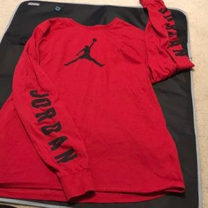 Jordan long sleeves men T-shirt.